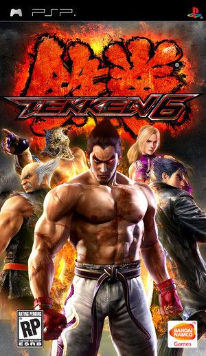 PSP Games Tekken 6